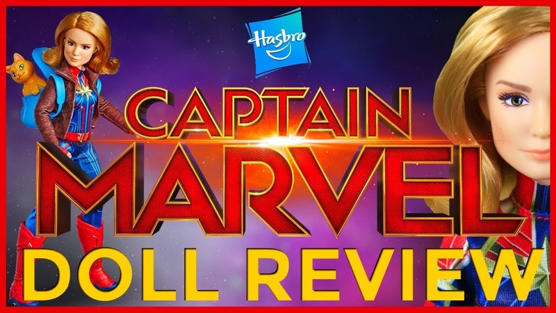 ОБЗОР куклы Hasbro Captain Marvel Marvel's Goose Cat Doll
