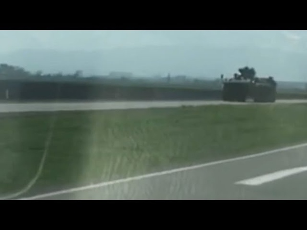 События в Ингушетии, 16 апреля 2019 года: в республику движутся колонны бронетехники