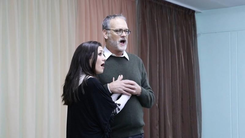 В Пинске выступили исполнители бродвейских мюзиклов из Нью-Йорка