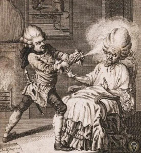 Факты о гигиене в 18-м веке: