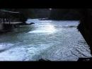 река вытекающая из Голубого озера впадающая в Бзыбь Абхазия сентябрь 2018