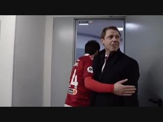 «Спартак» после победы над «Крыльями»