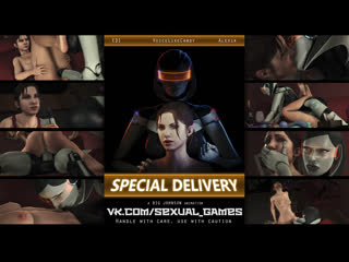 Special delivery (left 4 dead, mass effect sex)