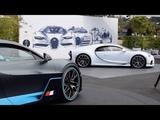 The Bugatti Display at Pebble Beach - Car Week 2018