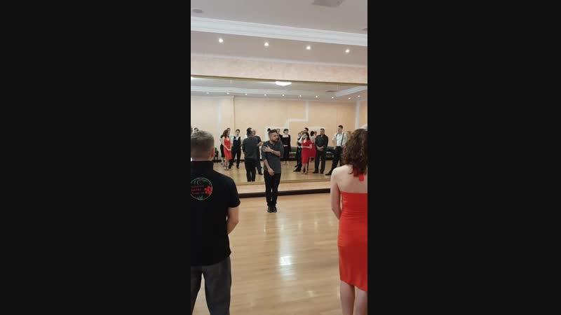 Sebastian Arce Open and closed embrace Seminar Back2town