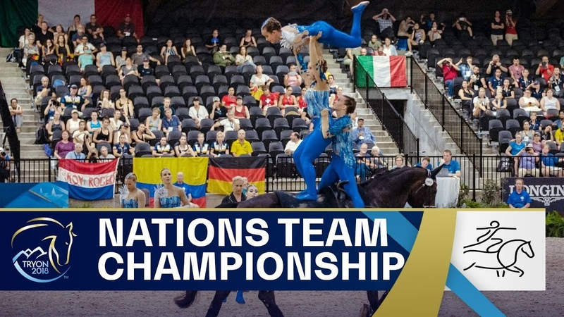 Breathtaking Vaulting performance wins Germany team gold FEI World Equestrian Games 2018
