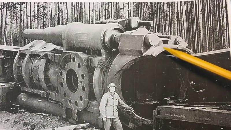 Schwerer Gustav Dora Railway Gun Corrections part 3. Breech