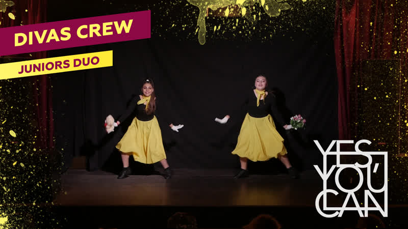 DIVAS CREW | JUNIORS DUO | YES, YOU CAN 1