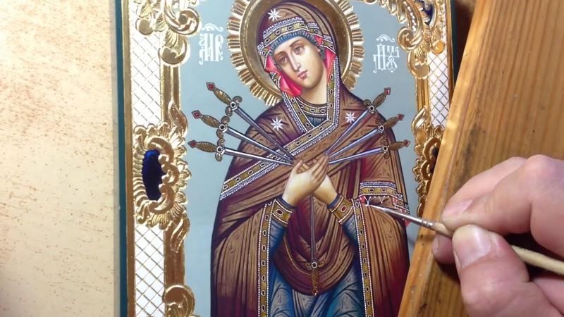 Сумская Икона Богородица Умягчение Злых Сердец Мастер Класс Иконопись Написание Иконы