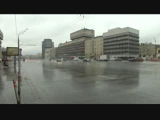 Зима в московском регионе