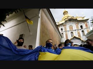 Книги жечь надоело, решили начать жечь церкви. Раскол православия на Украине.