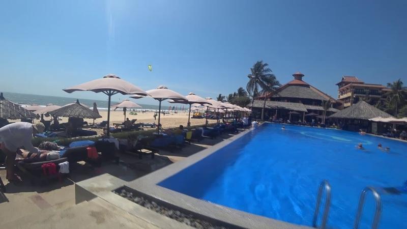 Из Сибири в Viet Nam ч.2 (Seahorse Resort 4* Дорога на пляж.)