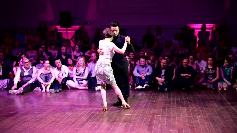 Tango- Gisela Graef-Marino y Sebastián Achaval, 30-4-2017, Brussels Tango F., Mixed couples 1-5