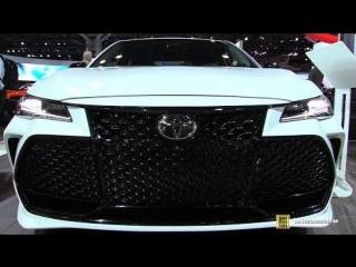 2019 Toyota Avalon Touring - Exterior and Interior Walkaround - 2018 New York Auto Show
