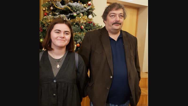 2018.12.18 Дмитрий Быков в репортаже ETV (ERR.ee, Таллинн)