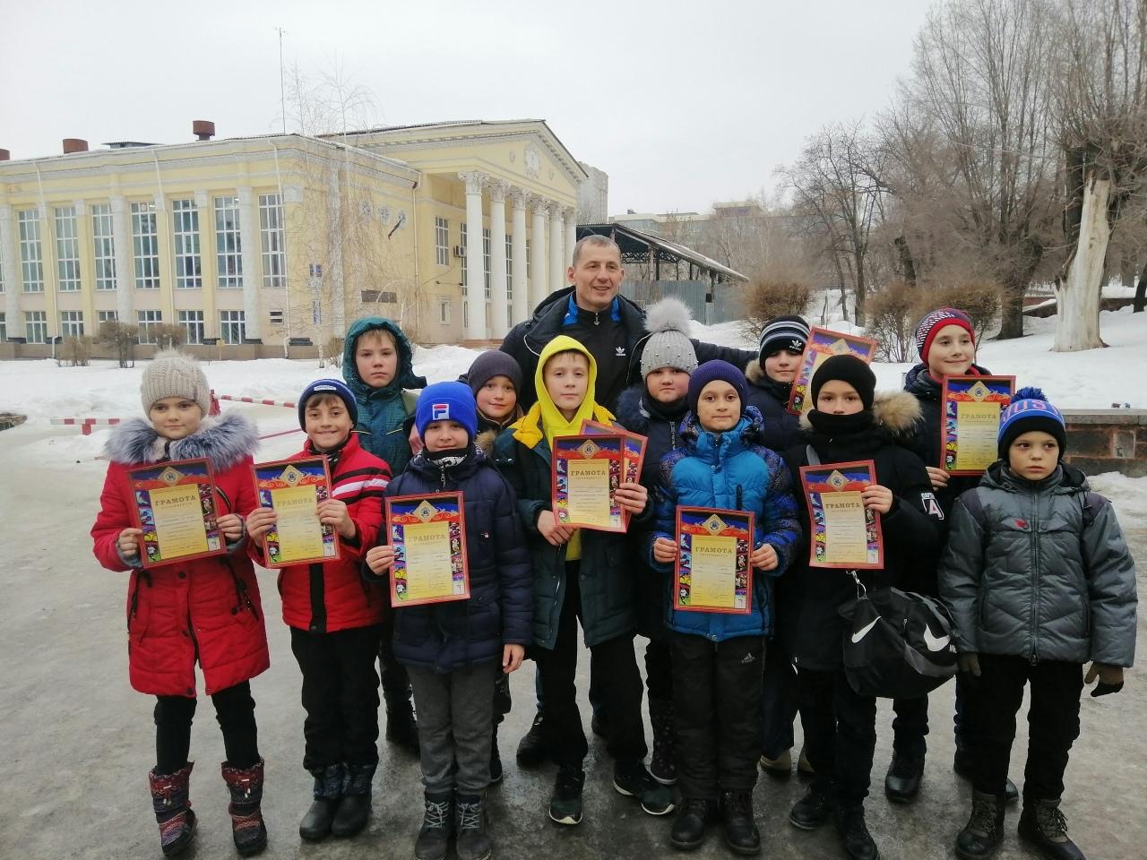 Открытое первенство города Донецка по кикбоксингу среди детей 2010-2007 г.