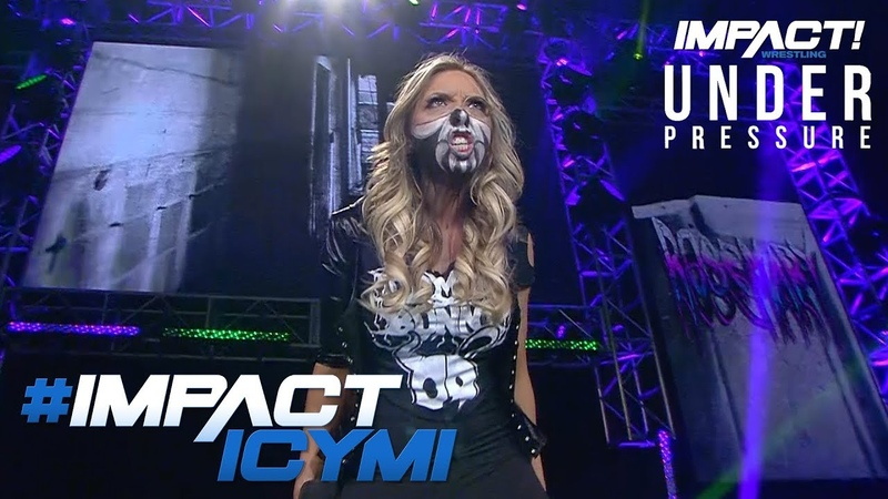 Allies Special Demonic Entrance at UNDER PRESSURE | IMPACT! Highlights May 31, 2018