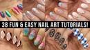 New Nail Art 2018 Fun Easy Nail Art Compilation