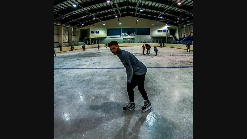 На Каток в Кайеркан! Лед агонь👍
