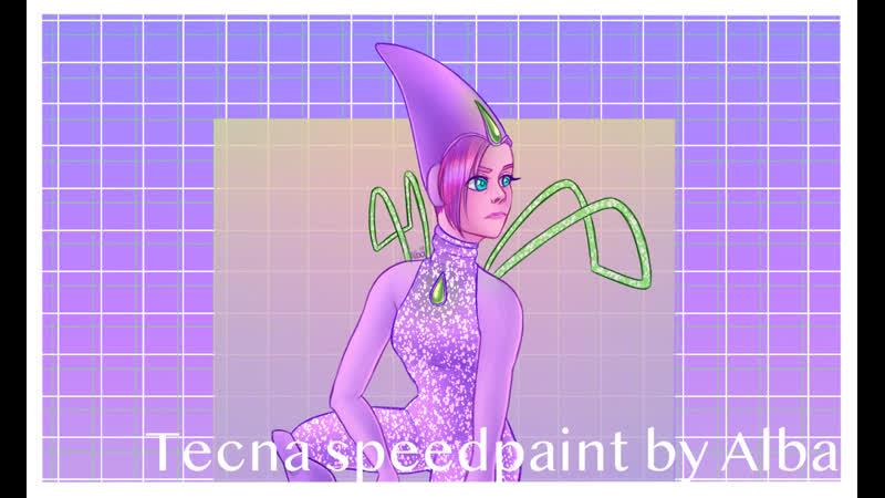 Tecna speedpaint Alba draws
