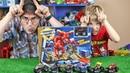 МОНСТЕР ТРАК БЕШЕНЫЙ БЫК - Илюша против ПАПЫ - Hot Wheels Monster Jam El Toro Loco Showdown