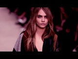 CARA DELEVINGNE Runway Compilation Best Moments