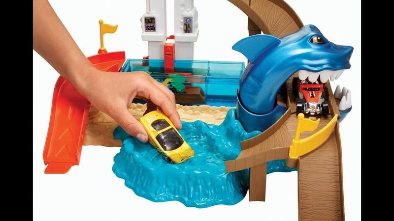 Track Shark Bay и Машинки меняющие цвет
