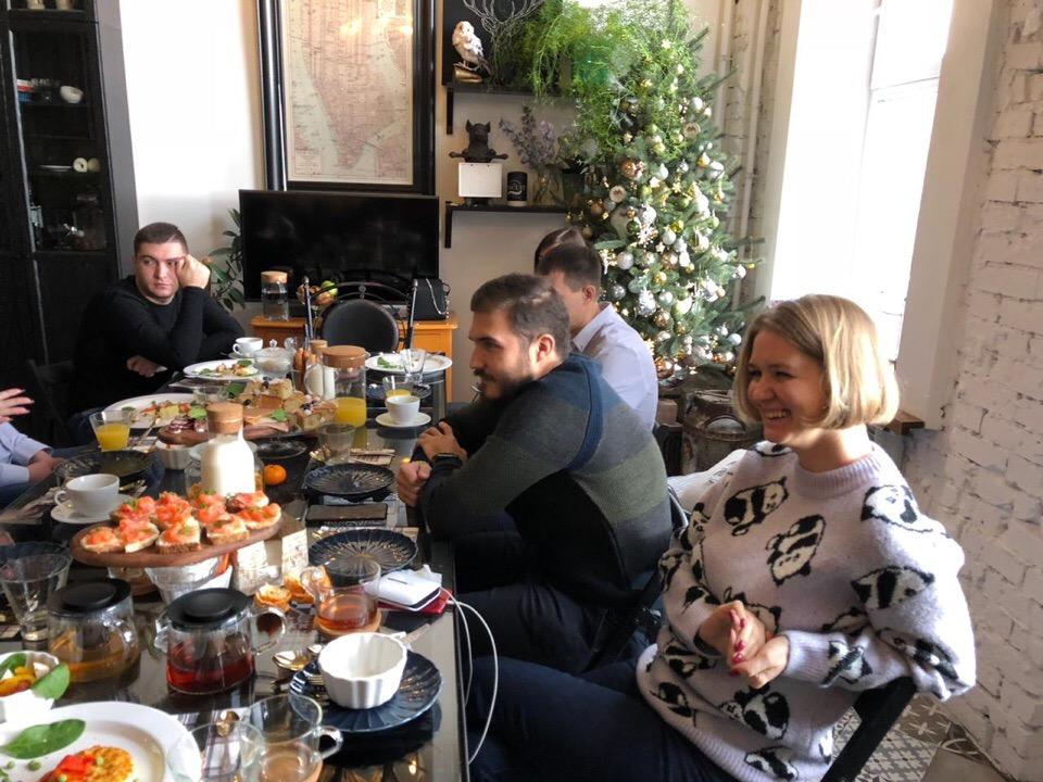 Афиша Бизнес-завтрак
