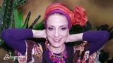 Leorah's Floral Ornament &amp Criss Cross Turban Wrap Tutorial! Wrapunzel