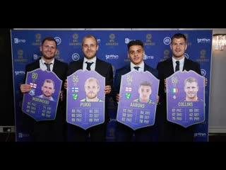 Лучшие игроки сезона в английской футбольной лиге.