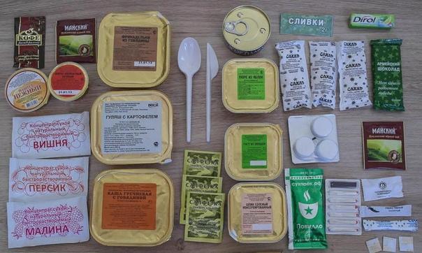 Еда в армии: набор продуктов, варианты питания