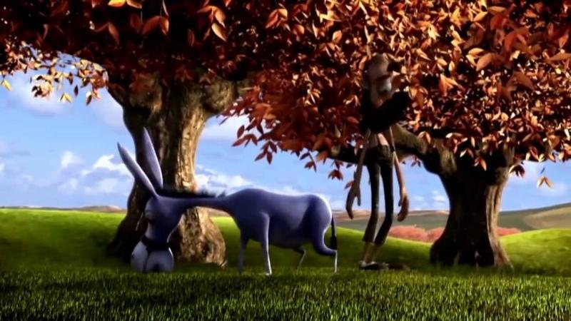 Фермер и Осел Смешной мультик про ленивого осла Farmer and donkey Funny cartoon