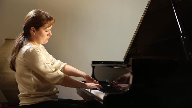 883 J. S. Bach – Prelude and Fugue in F-sharp minor, BWV 883 [Das Wohltemperierte Klavier 2 N. 14] - Veronika Kuzmina Raibaut