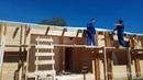 Строительство дома глазами заказчика ч 2 Двойной брус Каркасный дом