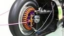 可変界磁 ダイレクトドライブモーター  variable field magnet motor.