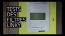 📶📳 TESTS DES FILTRES LINKY