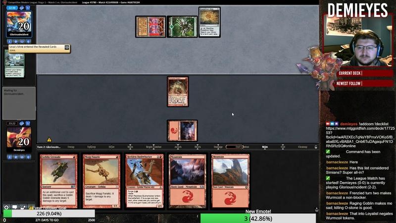 Mono Red Gobos! 7 TIX ON MTGO!?