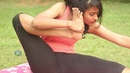 Akarna Dhanurasana Yoga Pose - Archer Pose Yoga to Opens Hip Shoulders Fit a Bit TV