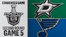05/03/19 Second Round, Gm5: Stars @ Blues