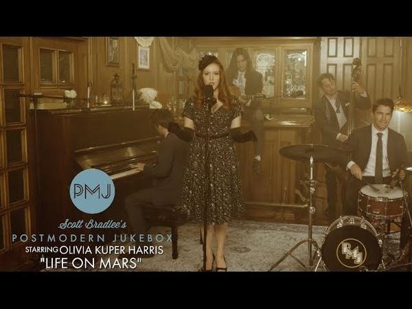 Life On Mars - David Bowie (Smoky Jazz Ballad Cover) ft. Olivia Kuper Harris