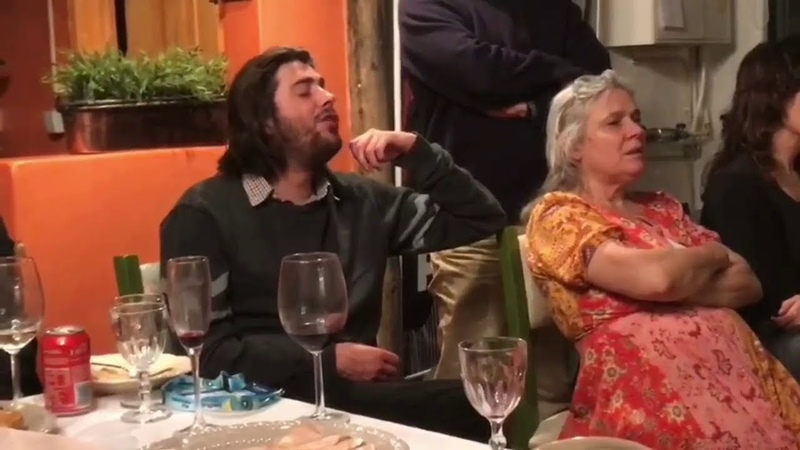 Salvador Sobral Caetano Veloso dinner in MesaLuisa 09-05-2018 [full]