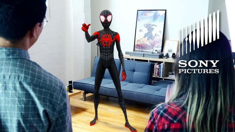 SPIDER-MAN: INTO THE SPIDER-VERSE - Augmented Reality Experience