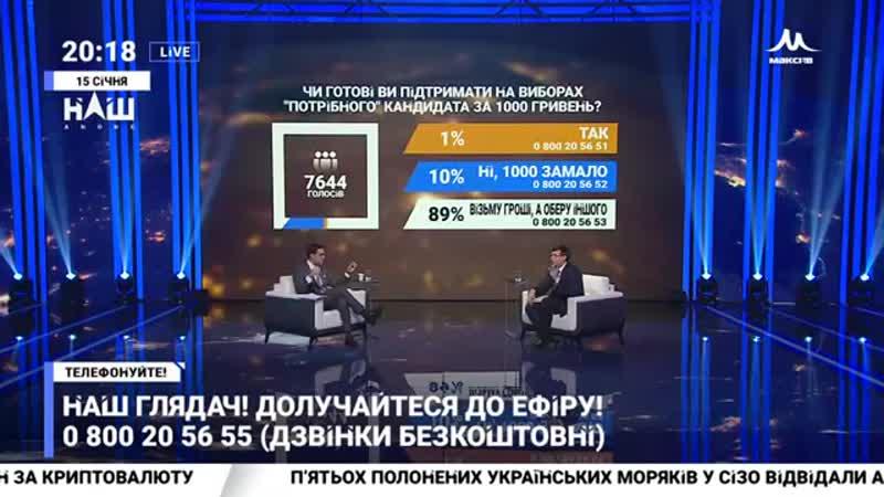 Мураєв_ Телеканали або підчиняються влади, або мають такі ж проблеми як телекана