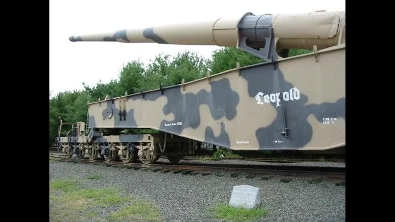 Krupp K5 28cm Eisenbahngeschütz Dokumentation