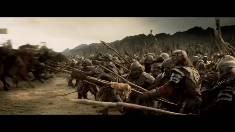 Властелин Колец_ Возвращение Короля _ The LOTR_ The Return of the King (2003) «На смерть!»_ Атака Всадников Рохана_1080p