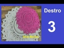 Vídeo aulas crochê - Tapete Redondo (DESTRO) 3/8 - Silvio Melchior