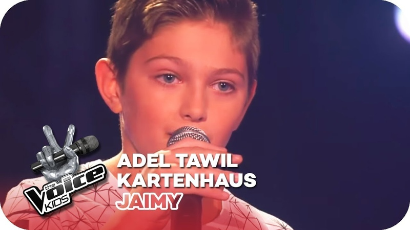 Adel Tawil - Kartenhaus (Jaimy)   Blind Auditions   The Voice Kids 2016   SAT.1