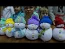 Новогодний мастер-класс Волшебные снеговики
