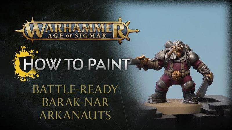 How to Paint: Battle-ready Barak-Nar Arkanaut Company