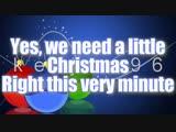 Glee Cast - We Need A Little Christmas Lyrics